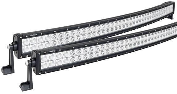 Led light bars accessories inc double row curved light bars aloadofball Gallery